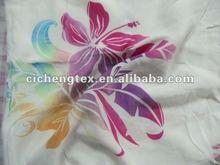 2014 hot sales colourful fresh viscose/rayon woven fabric various printed for ladies dress, hawaiian print rayon fabric