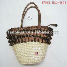 Hot sale corn husk straw bag