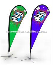 Polyester Flying Banner Flag Pole