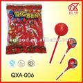 25 g con sabor a fruta chicle centro del caramelo de dulce confitería