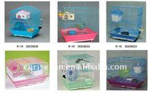 medium hamster cage / house ( wire+plastic)