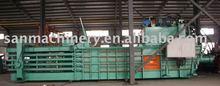 Trade Assurance Cardboard Baler Clothing Waste Paper Baling Machine Sale