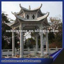 Granite stone pavilion garden
