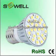 110V/230V 3.6W GU10/E14/E27/B22 5050SMD 2900-7000K 50000hrs LED bulb