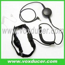 For Yaesu Vertex walkie talkie VX-10 VX-400 FT-250R FT-250E VX-150E VX-110E VX-1E VX-2E VX-3E soft throat vibration mic earphone