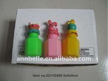 Bubble fun - pâques lapin, Poulet, Oeufs bulle d'eau / eau colonne à bulles