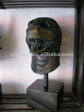 bronze statue, animal statue of Snake