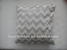 comfortable cushion, Stripe design Silk Velvet Cushion