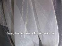 100% Polyester Organza Tulle Textile