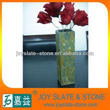 rectangle slate vase