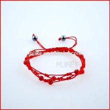 Hand Woven shinning ball bracelet