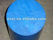 solid blue nylon bar, blue PA6 rod, polyamide nylon plastic rod
