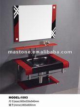 modern solid wood bathroom furniture&bathroom vanities