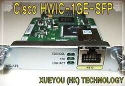 Cisco HWIC-1GE-SFP 100% brand new original Cisco network adapter