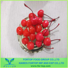Canned Cherry With Stem in Syrup