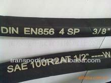 DIN EN856 4SP Extreme high pressure sae rubber hose