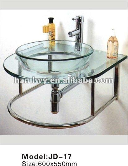 Lavabos Vidrio Para Baño:venta de vidrio templado transparente cuencas para baños-Lavabos
