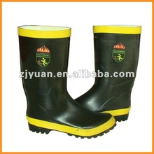 Fire rubber boots/ safety shoes/ protective boots