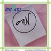 Simple design custom printed label for garment
