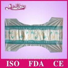 Printed PE breathable-like backsheet baby diapers