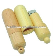 100% nature Bamboo usb drive,Wooden Capsule USB