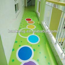 anti-slip children vinyl floor covering