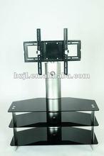 Cheap Modern Tempered Glass TV Wall Units XS4629