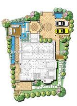 3D villa and landscape design,3D interior and exterior design,3D rendering