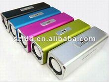 speaker UK2,Mini Music angel speaker box with TF Card reader and USB + FM Radio -Music Angel UK2
