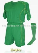 2012 Customized fishion high quality soccer uniform