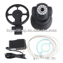 WIFI IR LED 2 Way Audio Webcam Wireless IP Camera Night vision Pan/Tilt JPT3815