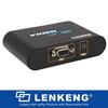 Laptop to HDTV, vga to hdmi convertor, conversor pc para tv