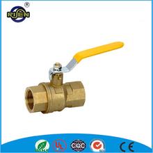 B306FF Long Handle Brass Ball Valve hot water ball valve