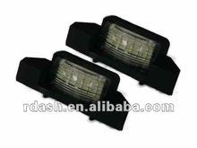 Racing Dash LED License Plate Lamp for Honda CRZ S2000