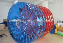 Summer popular inflatable water roller in discount