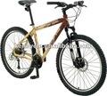 Pulgadas 26 horcas/rastrillos suspensión del disco de freno de velocidad 24 desviador de la bicicleta de montaña/bicicleta/dirt jump bmx/andnaor párrafo criancasy- mb2638