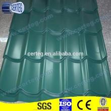 Corrugated Steel Tile Roof