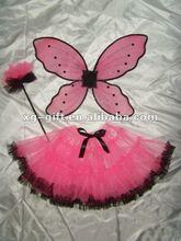 XT10226 Halloween Pink Fairy Tutu Costume