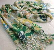 XZ-L0426 printed viscose/rayon scarf shawl