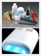36W UV Lamp/UV Gel Starter Kit For Nail Art Decoration Set HN1163