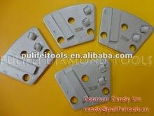 Trapezoid Floor Grinding Pad - PCD & Diamond Metal Bond polishing pads