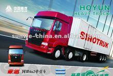 Euro 3 6x2 HOYUN tractor truck