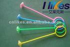 classic top toy spinning QQ flashing dance