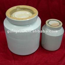 cylindrical alumina porcelain jar 5 L