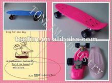 mini cruiser skateboard complete plastic skateboard