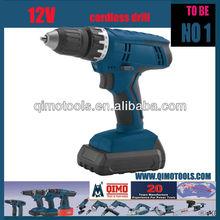 QIMO Professional Power Tools QM-2012 Ni-Cd 12V Single Speed Cordless Drill