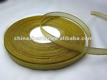 Best selling high quality decorative organza ribbon