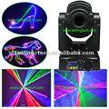 Rgb en movimiento- jefe de animación multi color de luz láser
