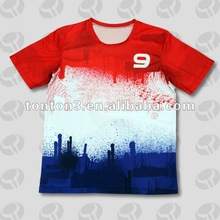 sublimation polyester t shirts for youth