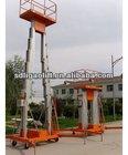 Pair/single Mast aluminum lift platform/aerial work lifts/manlift
